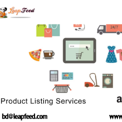Amazon Product Upload Listing Services